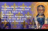 Selon que la France sera fidèle ou non à son baptême – Citation de Saint Rémi
