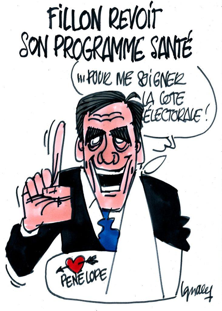 Ignace - Fillon revoit son programme santé