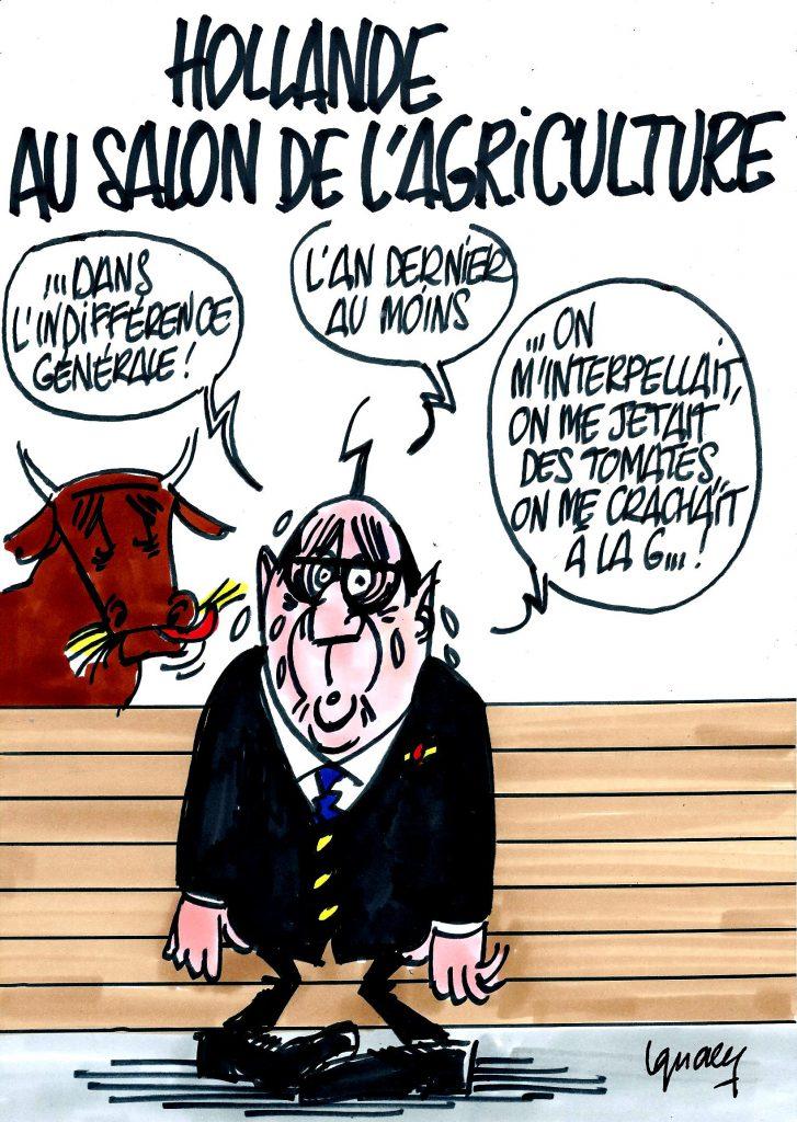 Ignace - Hollande au Salon de l'agriculture
