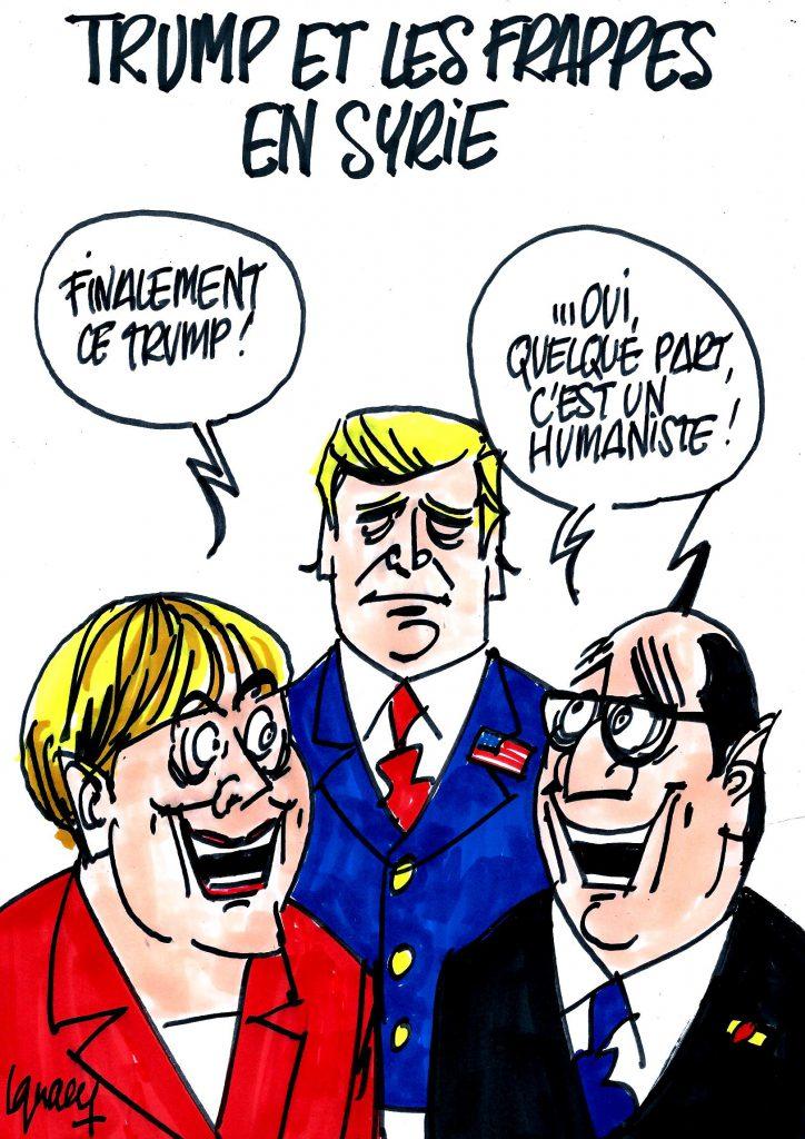 Ignace - Trump et les frappes en Syrie