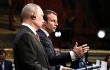 Vladimir Poutine à Versailles: le respect de «l'identité des peuples et de la souveraineté des pays européens» défendu par Marine Le Pen est le bon sens.