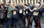 Italie- Activistes des Femens, seins nus au moment de l'Angelus place saint-Pierre, acquittées !