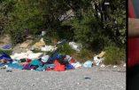 Italie – Camp de migrants à Vintimille: une tête de Jésus utilisée comme WC