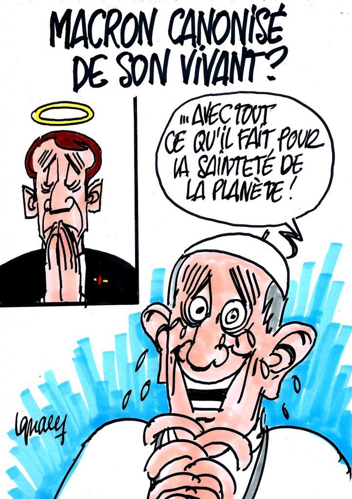 Ignace - Macron bientôt canonisé ?