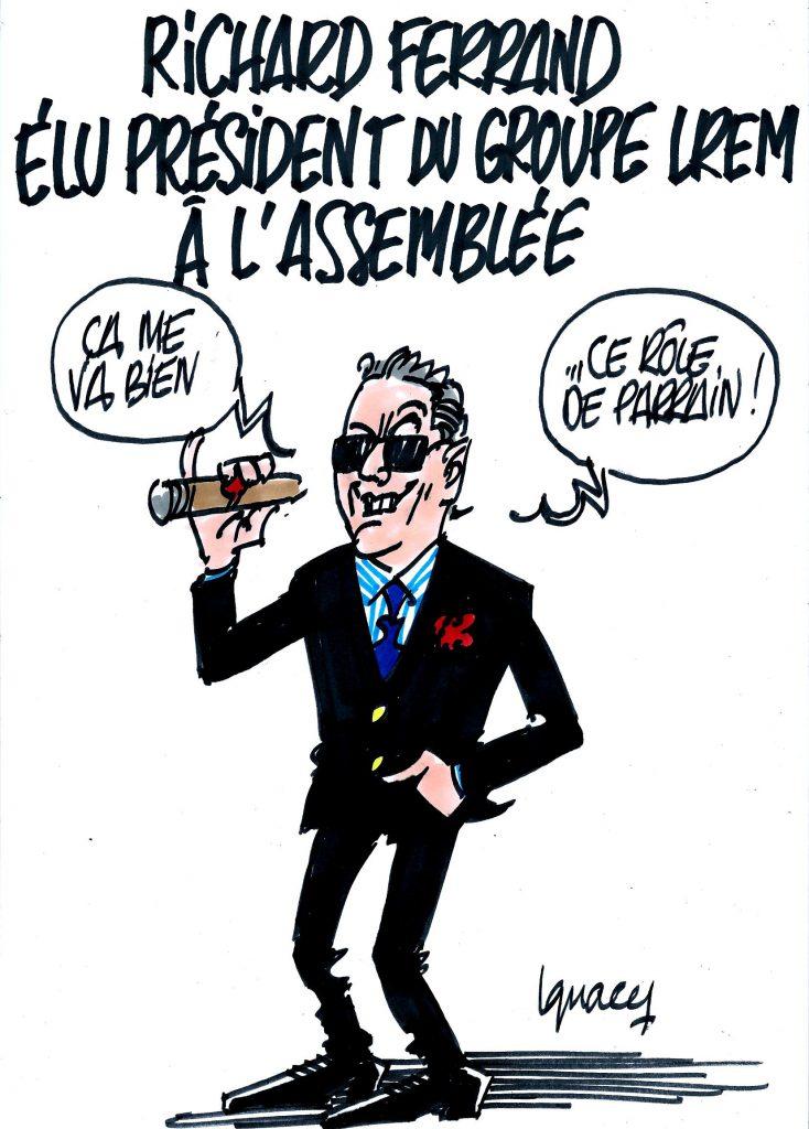 Ignace - Ferrand président du groupe LREM