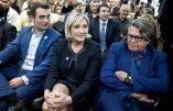 Néo-FN : Marine Le Pen, Florian Philippot et Gilbert Collard rendent hommage à l'avorteuse Simone Veil