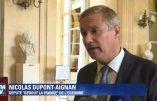 Nicolas Dupont-Aignan cingle les journalistes du pouvoir