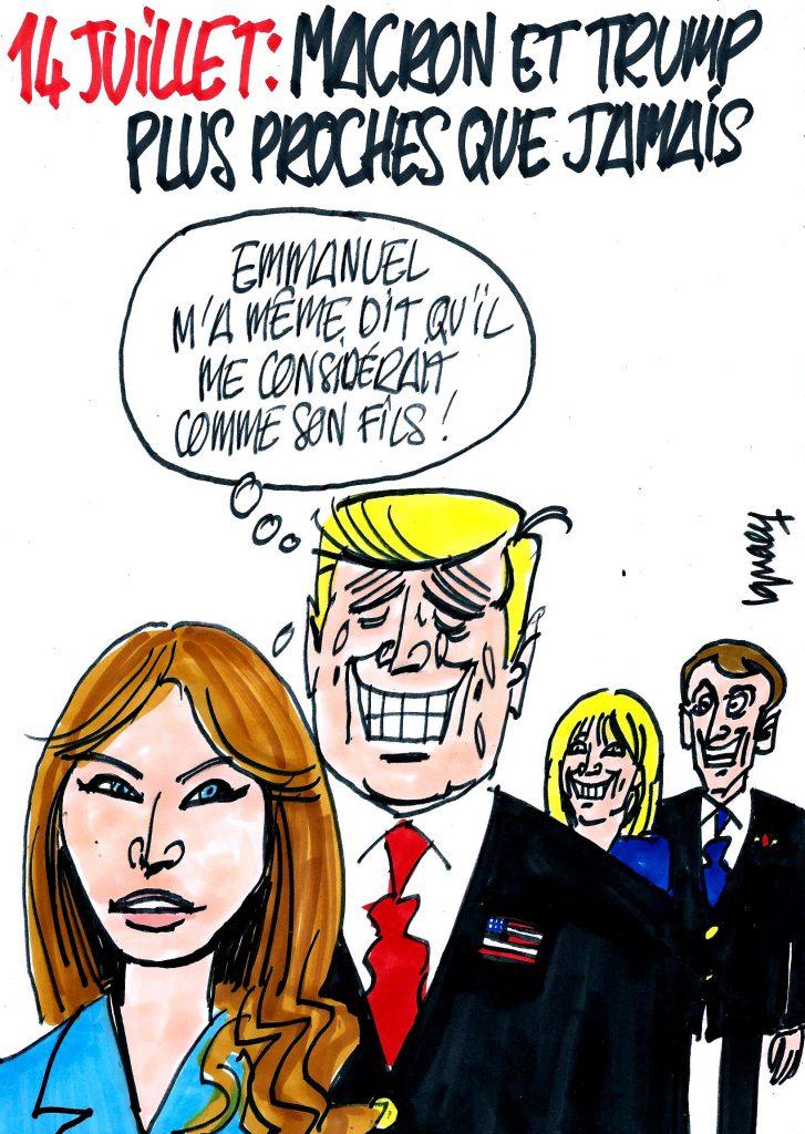 Ignace – Trump et Macron plus proches que jamais