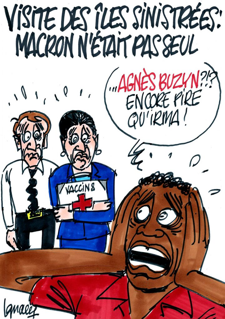 Ignace - Macron au chevet des sinistrés