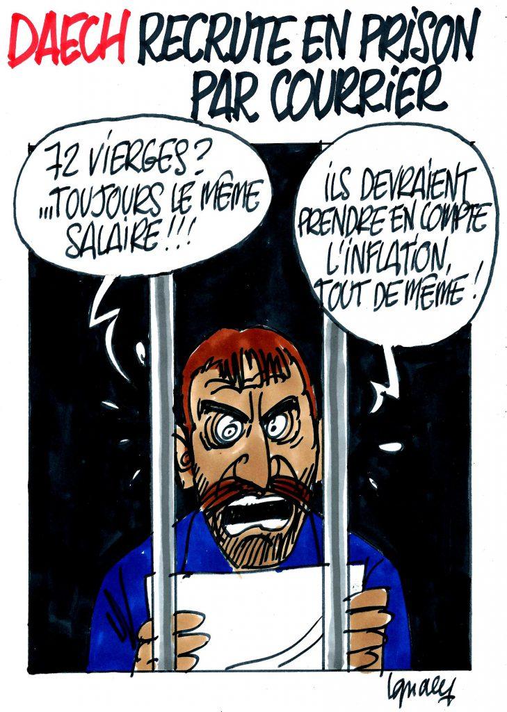 Ignace - Daech recrute en prison par courrier