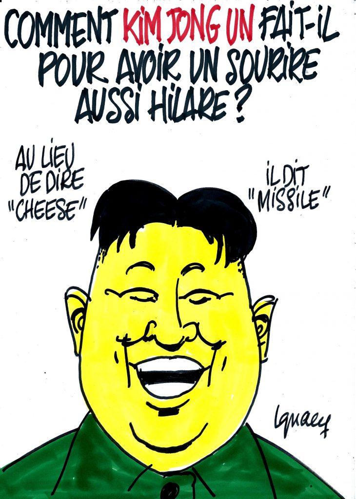 Ignace - Le sourire de Kim Jong-Un