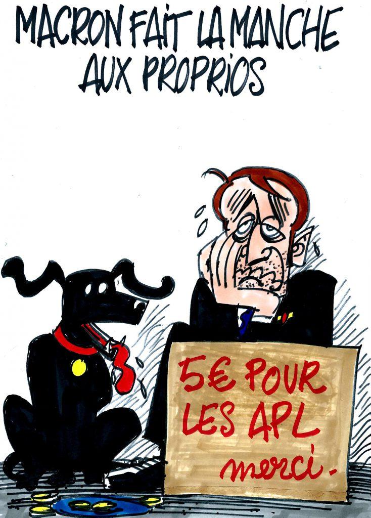 Ignace - Macron fait la manche