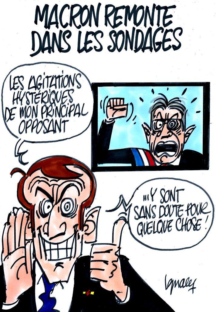 Ignace - Macron remonte dans les sondages