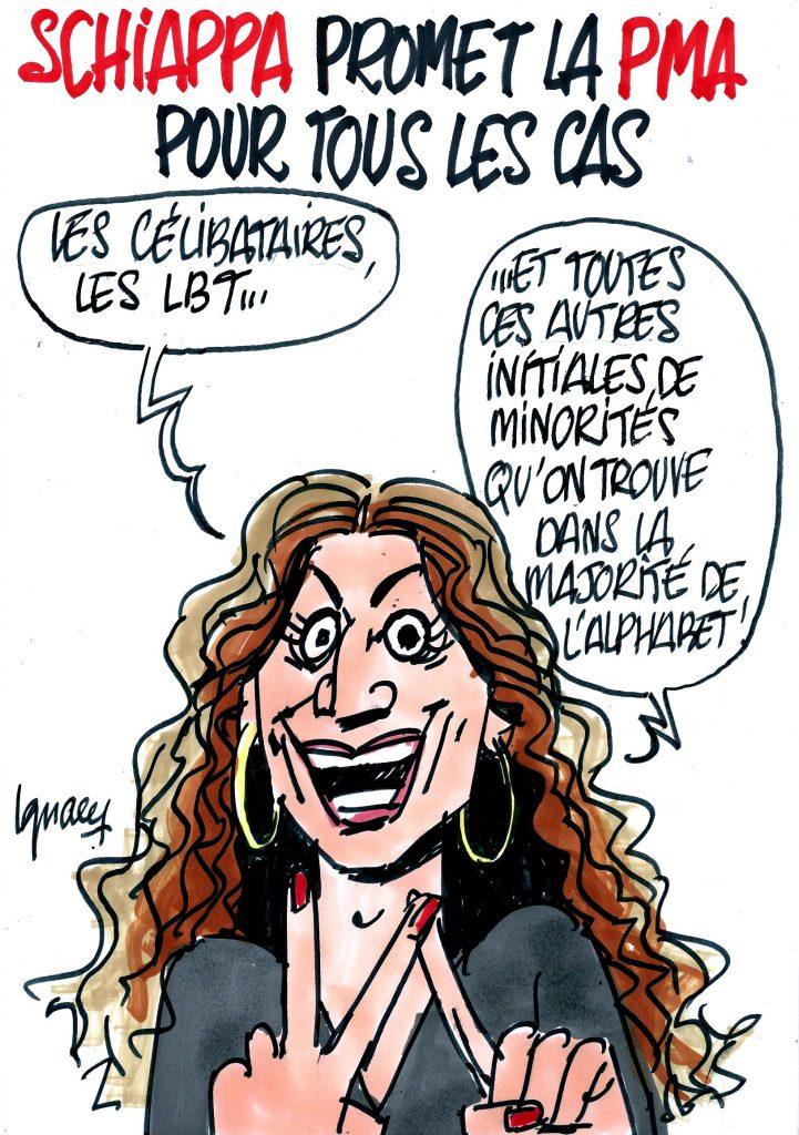 Ignace - Maria Schiappa promet la PMA pour toutes