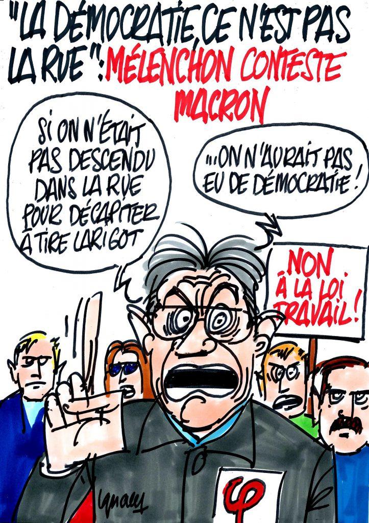 Ignace - Mélenchon, la démocratie et la loi Travail