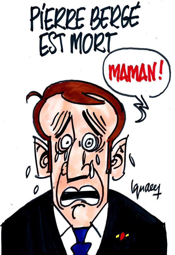 Ignace - Pierre Bergé est mort