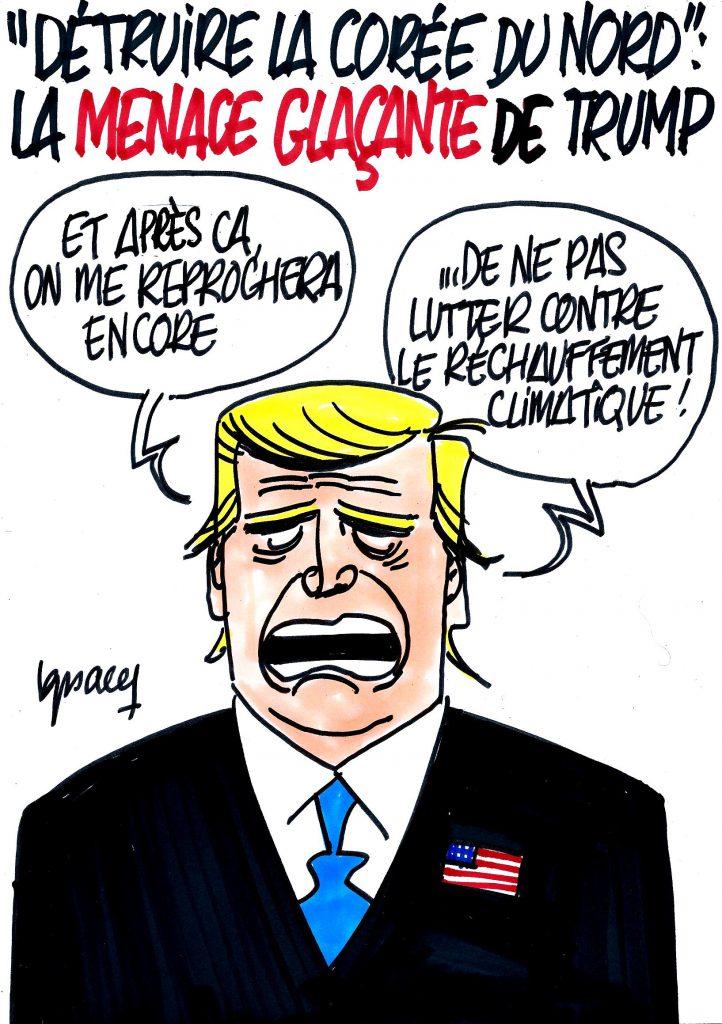 Ignace - La menace glaçante de Trump