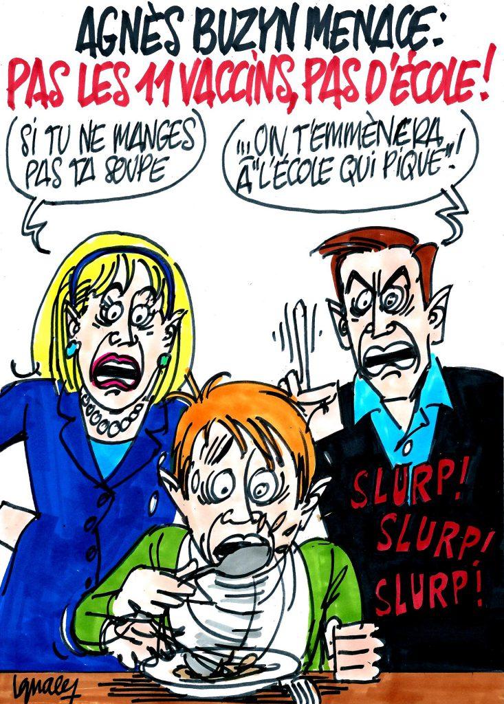 Ignace - Agnès Buzyn menace