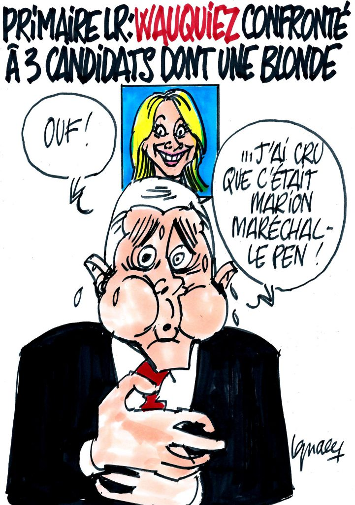 Ignace - Wauquiez confronté à une blonde