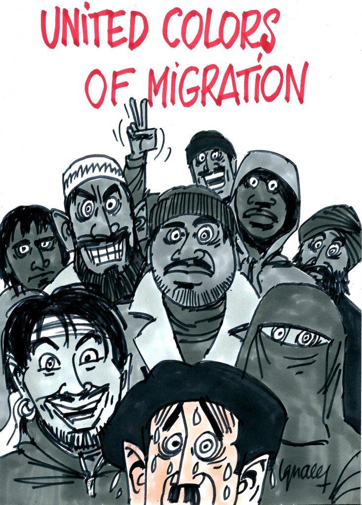 Ignace - United colors of migration