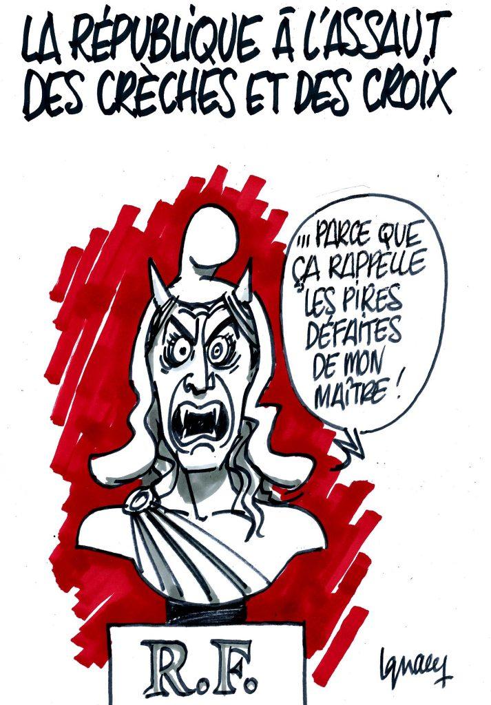 Ignace - La république à l'assaut des crèches et des croix