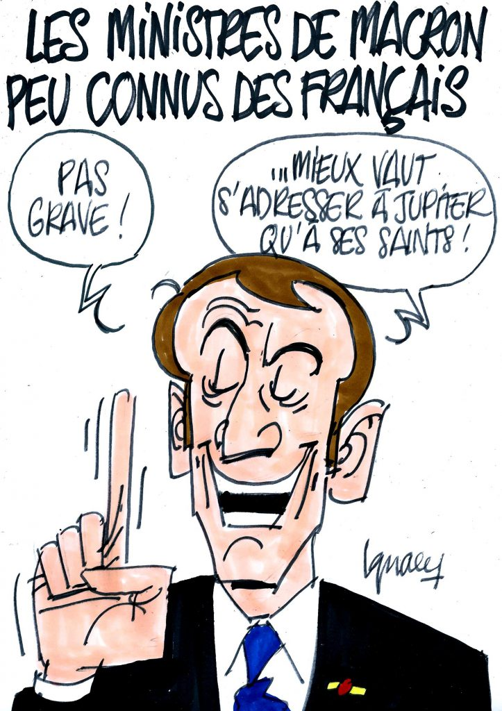 Ignace - Les ministres de Macron peu connus