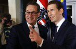 """Autriche: Une entente de gouvernement scellée sur l'identité nationale et le refus de """"l'invasion de masse""""."""