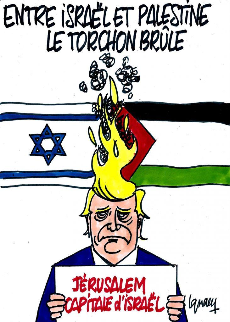 Ignace - Entre Israël et Palestine, le torchon brûle
