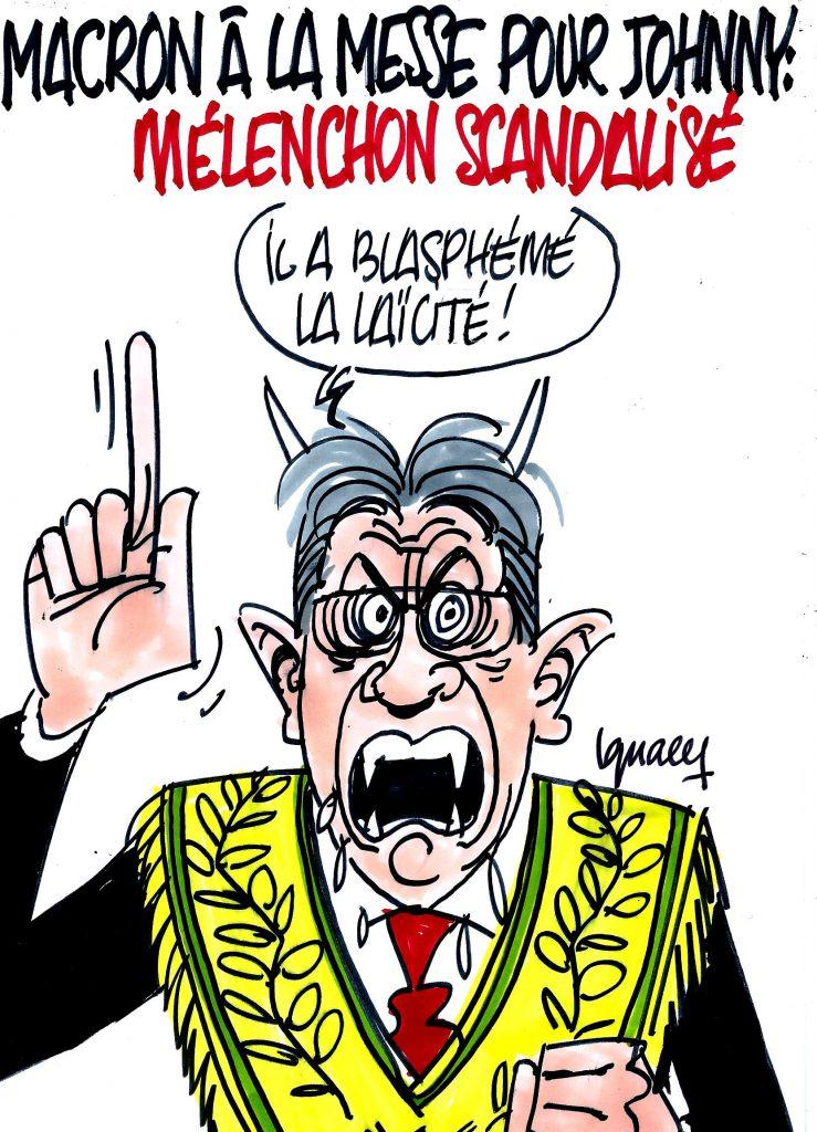 Ignace - Mélenchon scandalisé
