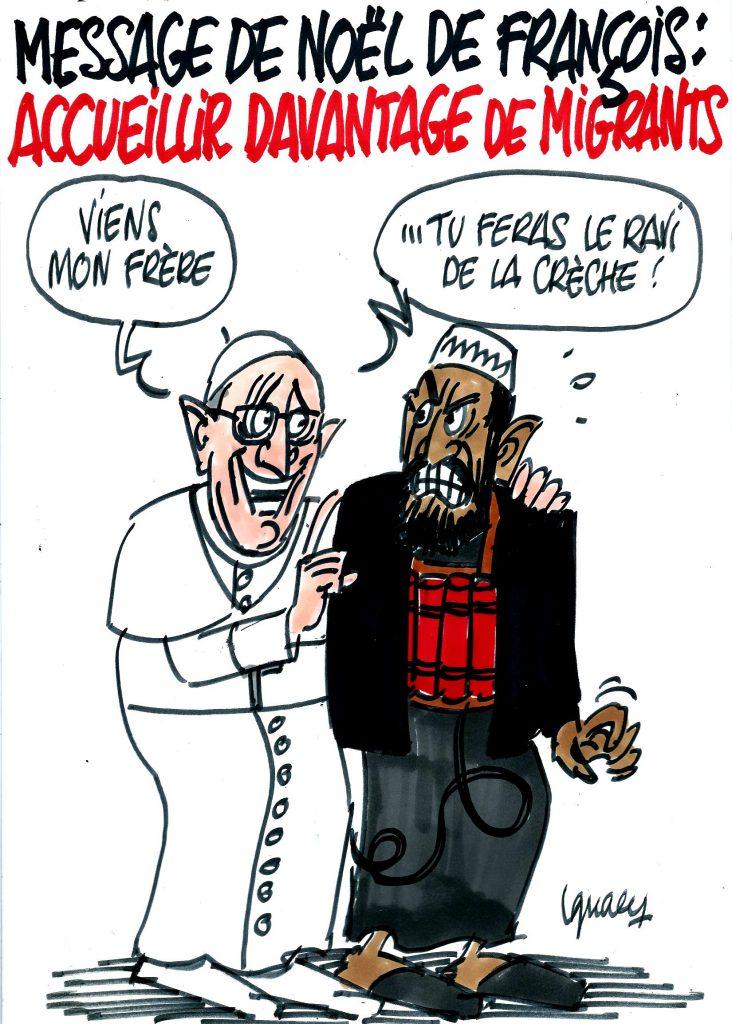 Ignace - Message de Noël de François