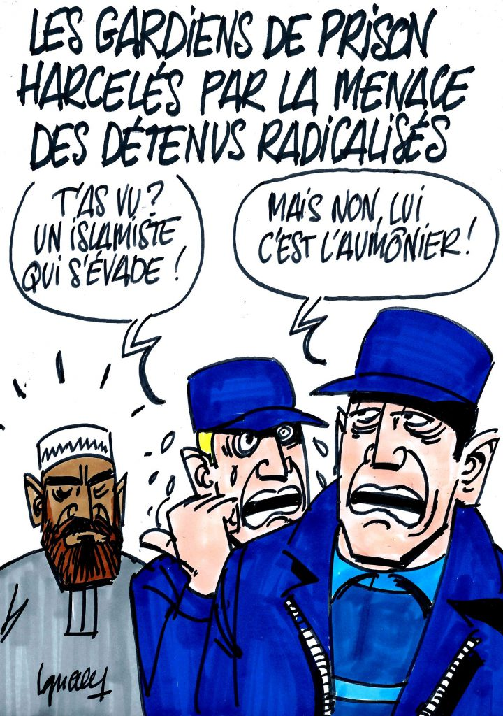 Ignace - Gardiens de prison et détenus radicalisés