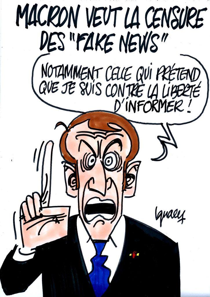 """Ignace - Macron et les """"fake news"""""""