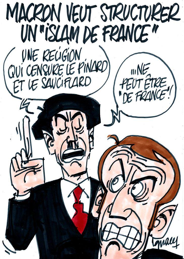 "Ignace - Macron veut structurer un ""islam de France"""