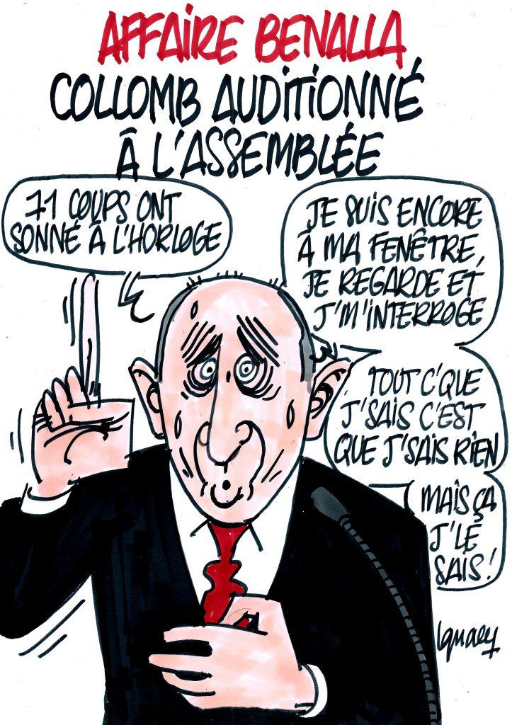 Ignace - Collomb auditionné à l'Assemblée
