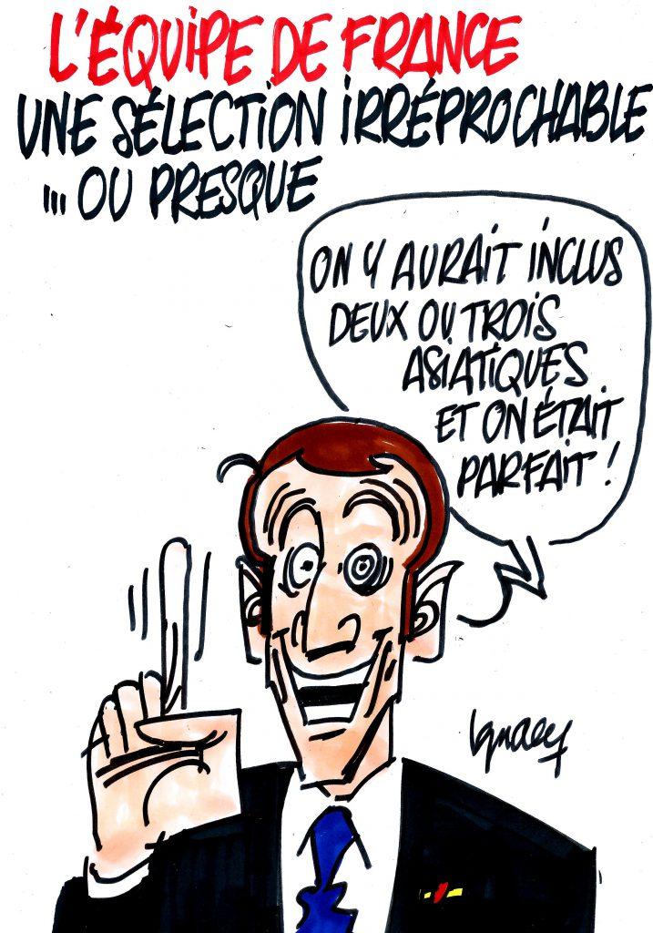 Ignace - Équipe de France irréprochable... ou presque