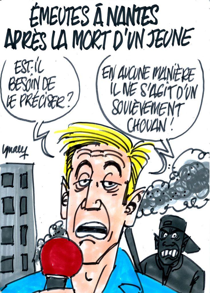 Ignace - Émeutes à Nantes