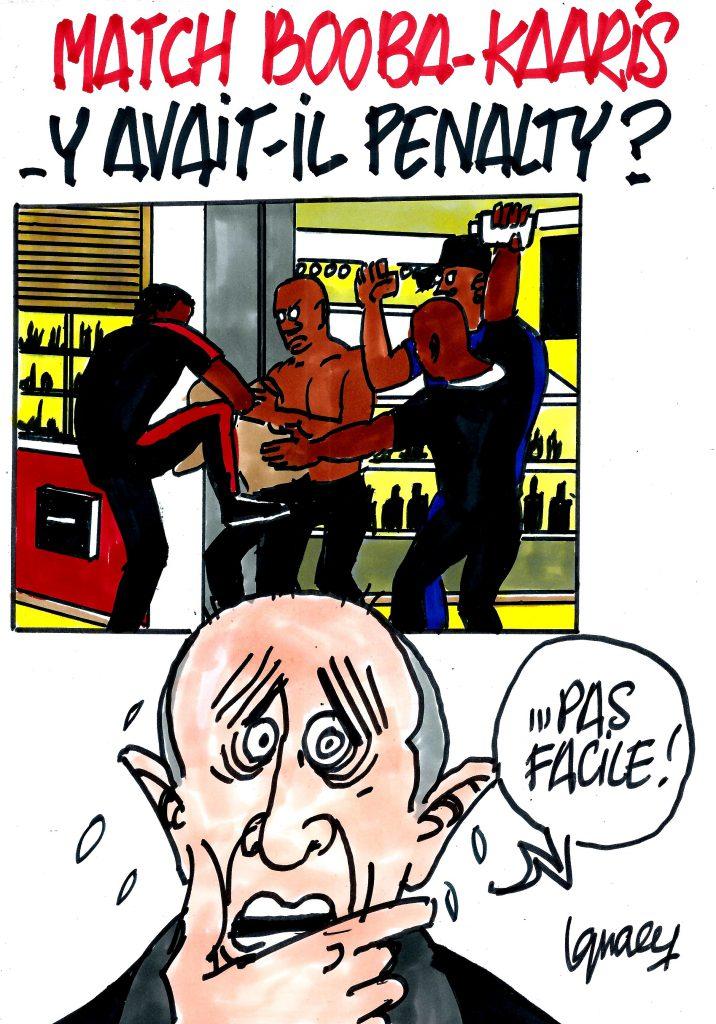 Ignace - Booba - Kaaris : y avait-il penalty ?