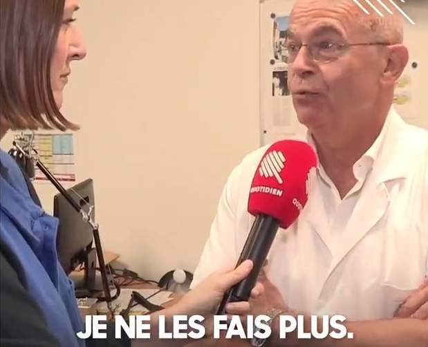 """Avortement: Le président du syndicat des Gynécologues déclare: """"Nous ne sommes pas là pour retirer des vies"""""""