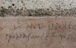 Pompéi: un graffiti ébranle les certitudes historiques