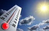 L'origine du réchauffement climatique