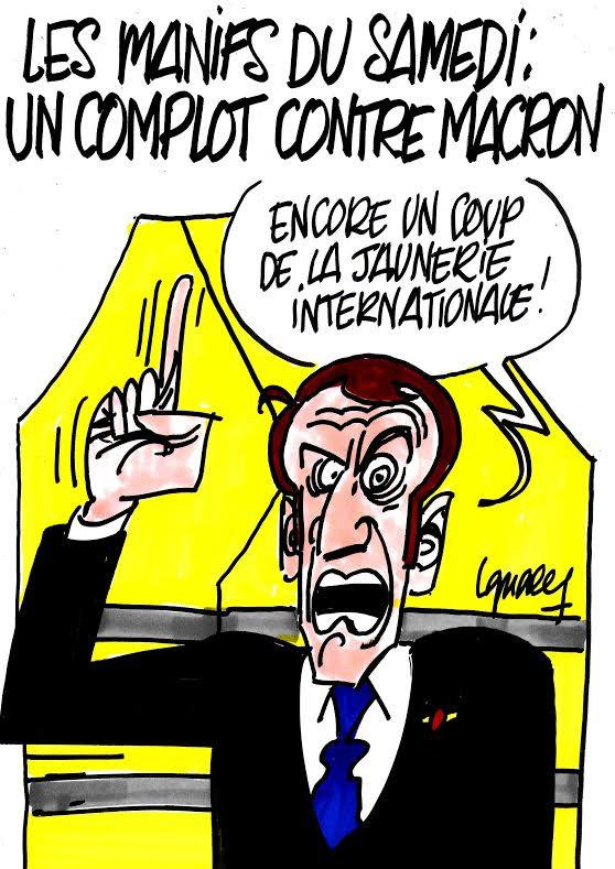 Ignace - Macron victime d'un complot ?
