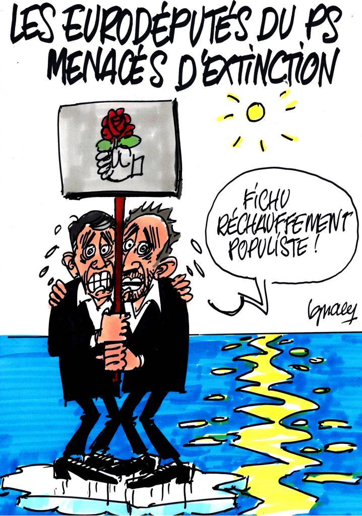 Ignace - Les eurodéputés du PS menacés d'extinction