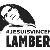 Une centaine de personnes se sont mobilisées pour Vincent LAMBERT à Lyon aujourd'hui (5 juin)