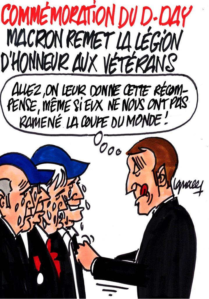 Ignace - D-Day, la Légion d'honneur pour les vétérans