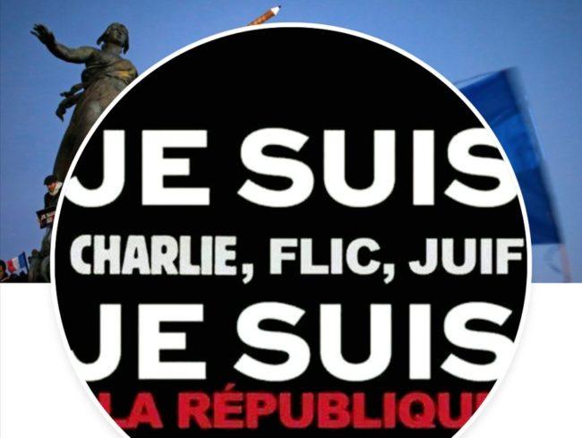 """La nouvelle devise de la République : """"Charlie, Flic, Juif"""""""