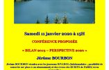 11 janvier 2020 à Aix-les-Bains – Conférence de Jérôme Bourbon