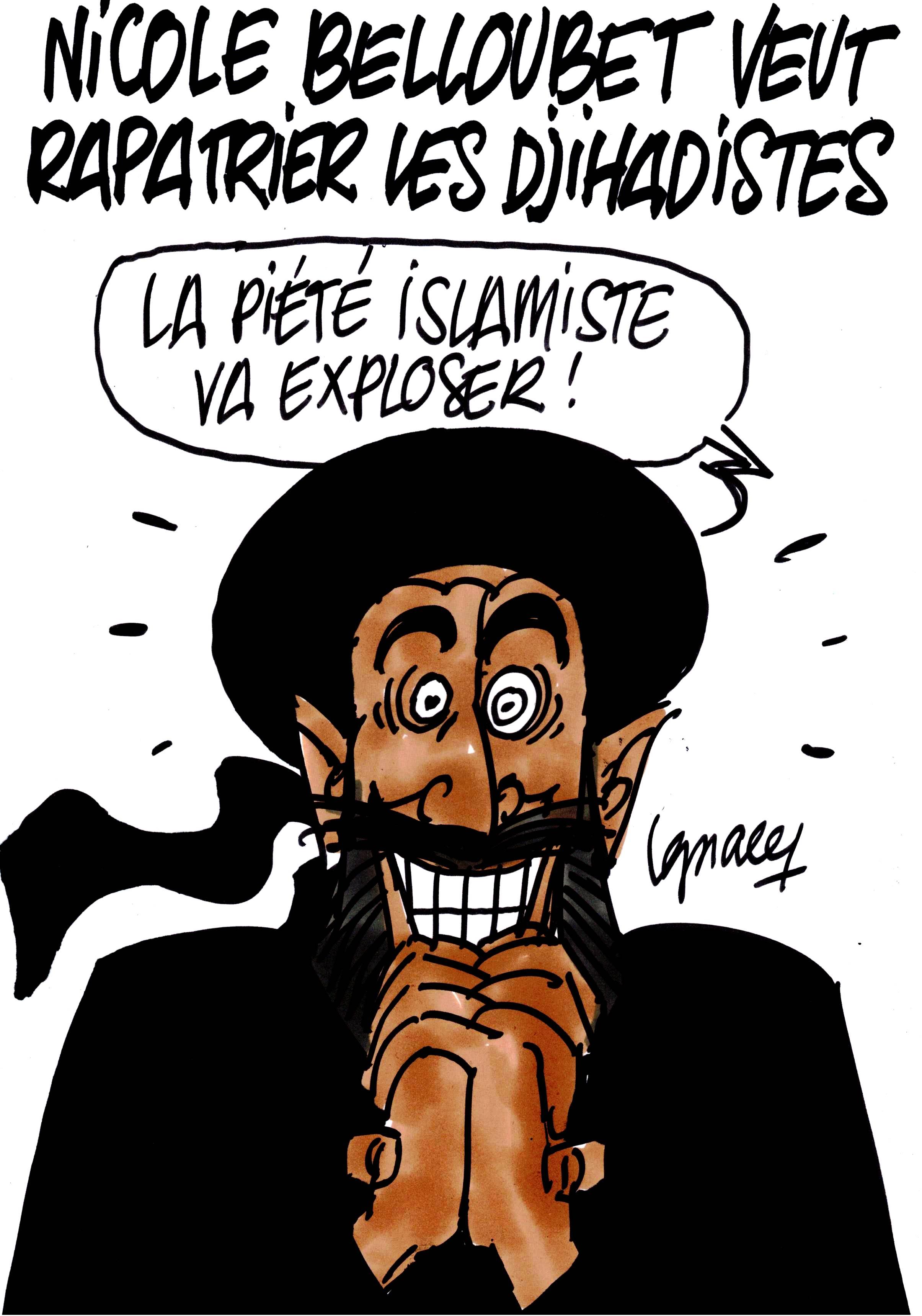 Ignace - Belloubet veut rapatrier les djihadistes