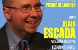 Alain Escada sera sur TV Libertés ce mercredi 4 mars 2020