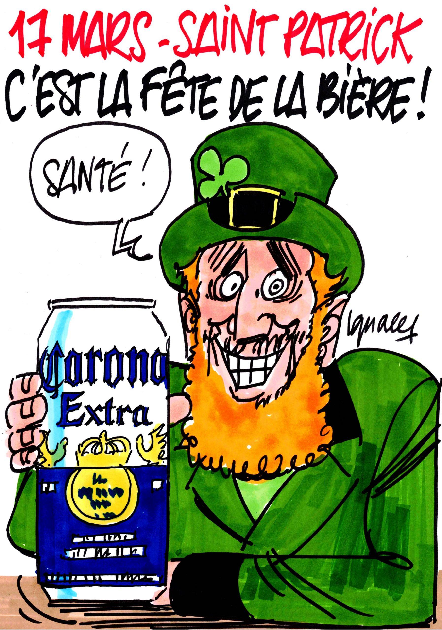 Ignace - C'est la saint Patrick !