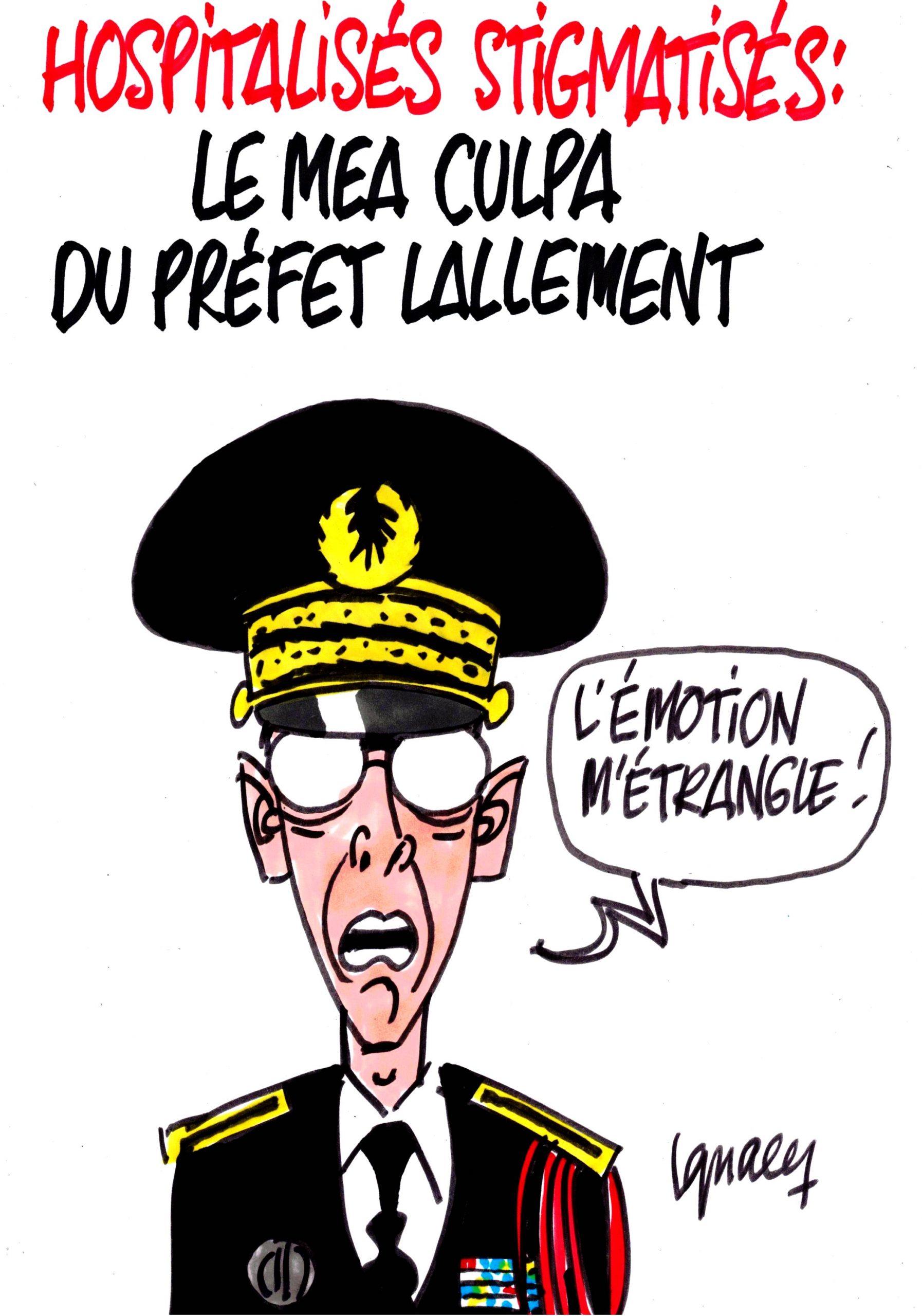 Ignace - Le Préfet Lallement s'excuse